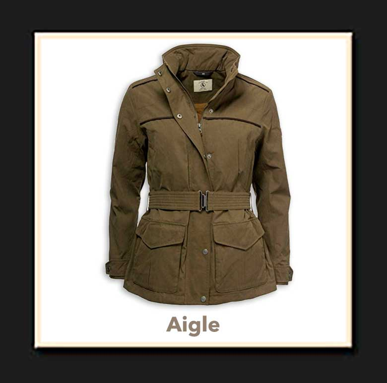 Chaqueton Caza Mujer Aigle Parcours