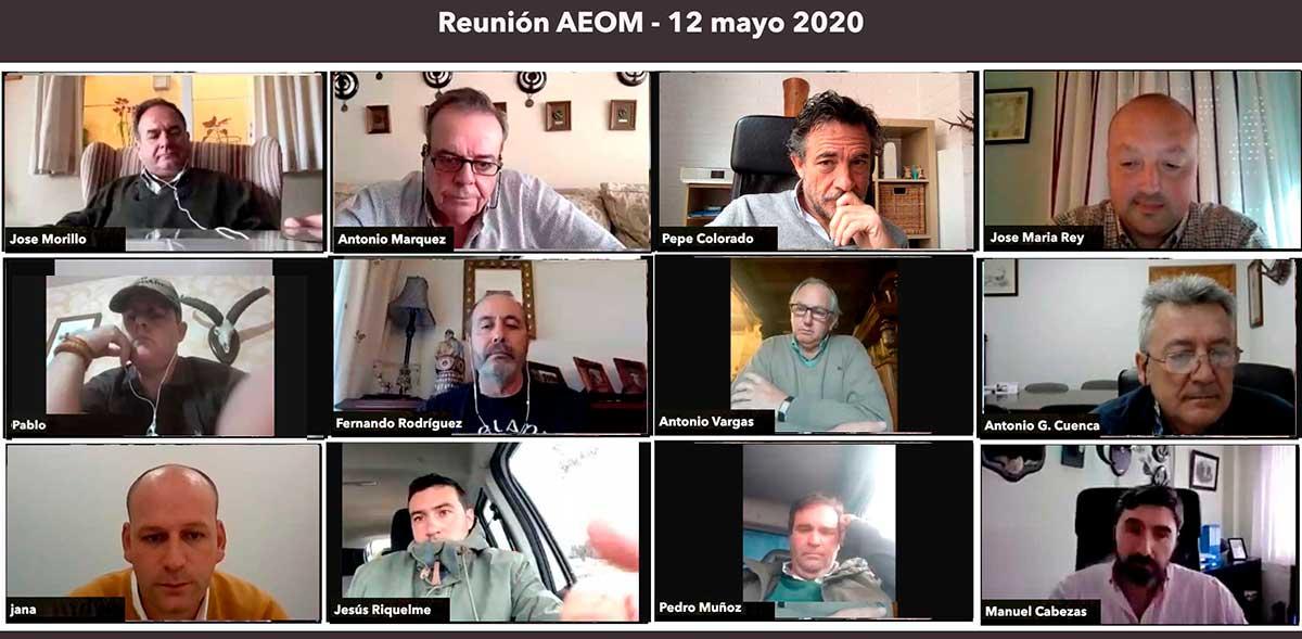 Segunda reunión Online de las Organizaciones de Monterías