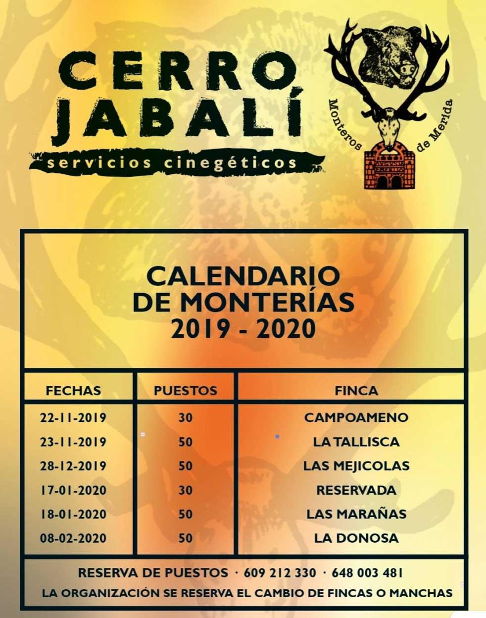 Programa Monteros de Mérida
