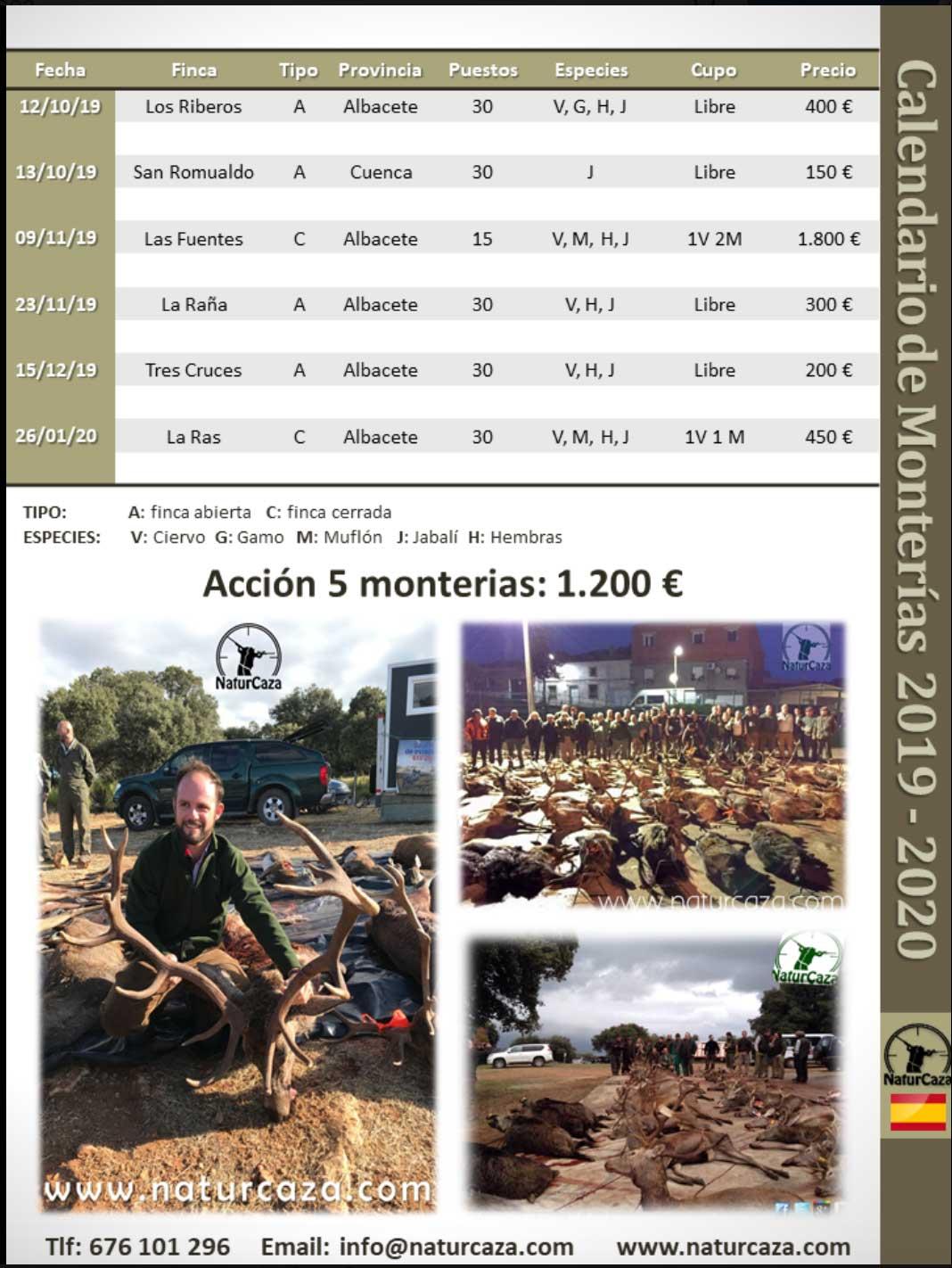 Programa Monterias Naturcaza